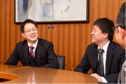 新井氏と大泉